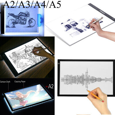 LED Tracing Copy Pad Table Light Box Board Art Tattoo Drawing A2/A3/A4/A5 I7S9