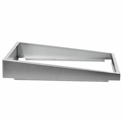 Steam Table Pan Riser Full Size Stainless Steel Pan Elevator - 22l X 12w X 4h