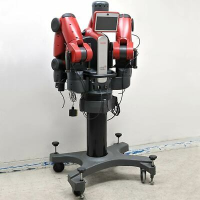 Rethink Robotics Baxter Dual-arm Robot 2x 7 Dof Arms W Pedestal Testedworking