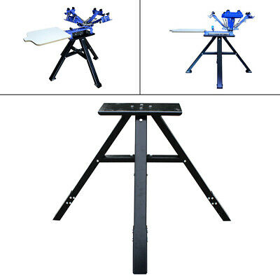 Metal Stander 4 Color 1 Station Screen Printing Press Standvertical Stands Usa