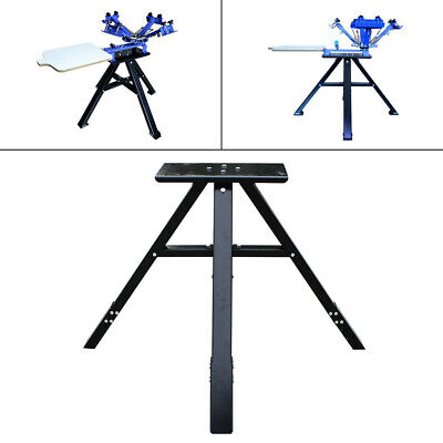 Metal Screen Printing Stander Press Printer Floor Holder Corrosion-resistant