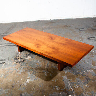Mid Century Modern Coffee Table Large Martin Borenstein Danish Rectangular Mcm Martin Furniture Coffee Table