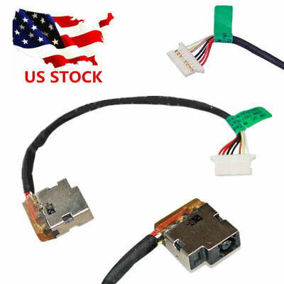 (DC Power Jack Socket Port Cable For HP 15-AC185NR 813945-001 TPN-C125 JIUS)