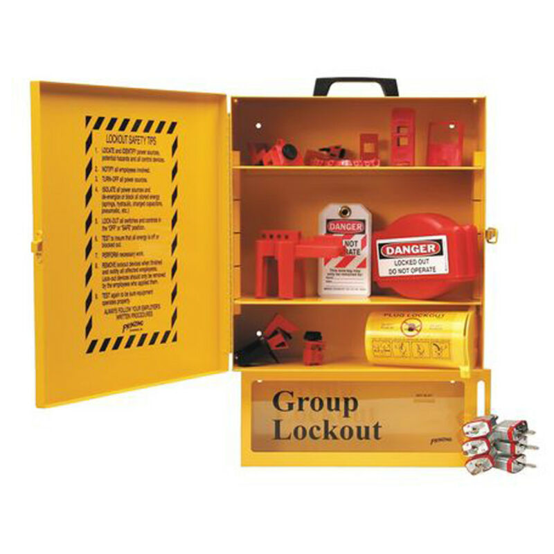 Brady 99710 Combined Electrical Lockout & Lock Box Station