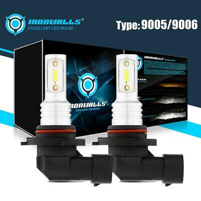 2X 6000K LED Fog Light Bulbs for Dodge Ram 1500 2500 3500 4500 5500 2009-2017