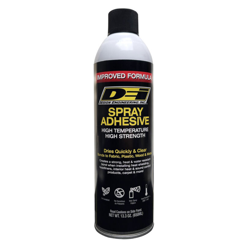 Hi Temp Spray Adhesive 13 oz Can Headliner Glue Upholstery High Strength DEI