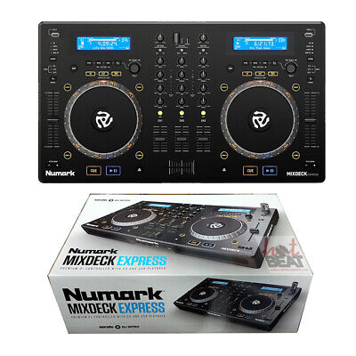 Numark MixDeck Express Premium DJ Controller with Dual CD Player & USB Playback for sale  Shipping to South Africa