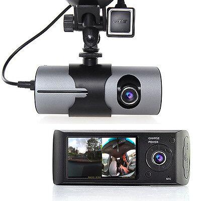 2 7  Tft Lcd Hd Dash Cam Dualcam Car Dvr W  Gps Tracker   Google Maps   G Sensor