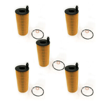 5x New Oil Filter Diesel  Kit  For BMW F06 F15 F21 F22 F34 F35 F80 #11428507683 for sale  Shipping to Canada