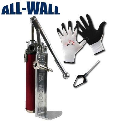 Cinta Drywall Mud Compound Pump Wbox Filler Free Mud Pan Mixer Grip Gloves