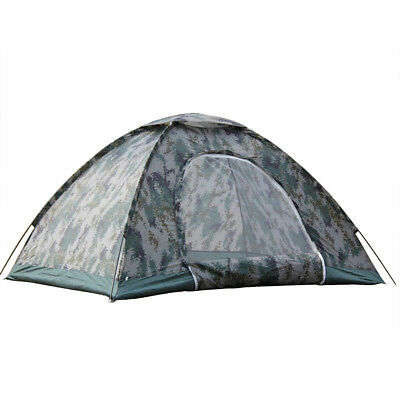2-4 Person Waterproof Outdoor Camping 4 Season Folding Tent Camouflage Hiking 2 Person Camping Tent