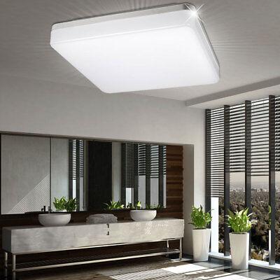LED Bade Zimmer Decken Lampe Außen Beleuchtung Feucht Nass Raum Leuchte Keller