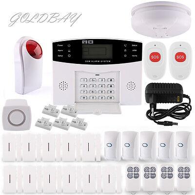Haus Funk Alarmanlage Sicherheit GSM SMS SIM IR Sensor Anruf Bewegungsmelder APP