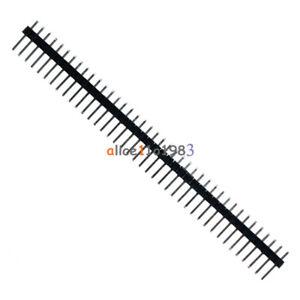 5-40pin-2-54-mm-de-hilera-simple-recto-Pines-Macho-encabezado-Tiras-Pbc-ardunio