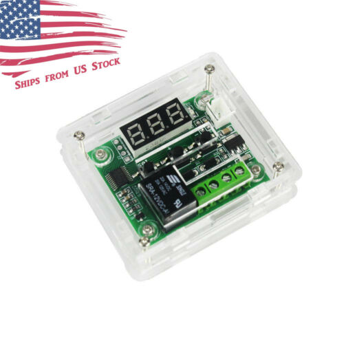 W1209 12V -50-110°C Digital Thermostat Temperature Control Switch Sensor + Case