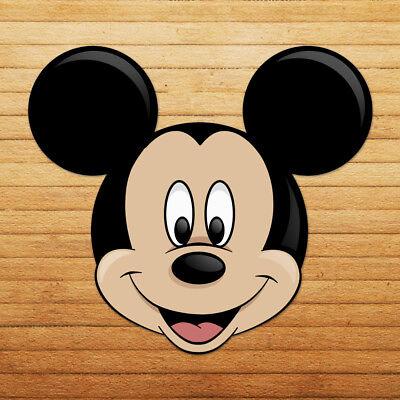 Mickey Mouse Head Disney Walt Classic Car Wall DieCut Window Vinyl Decal Sticker