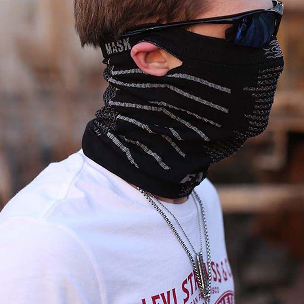 Multifunktions Motorrad Halstuch Schlauchschal Halswärmer Kopftuch Gesichtsmaske