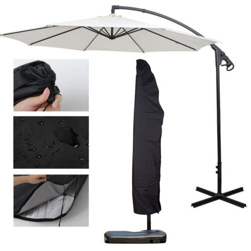 Heavy Duty Outdoor Patio Umbrella Protective Cover Bag Waterproof Canopy 7-13/'ft