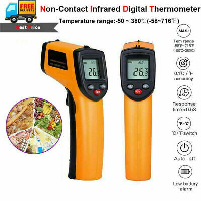 Gm320 Non Contact Lcd Ir Laser Infrared Digital Temperature Thermometer Gun Usa