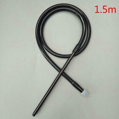 Hose/Tube of Chicha in Silicone Tip Aluminium 59 1/8in F