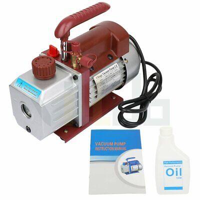 4.5 Cfm Rotary Vane Deep Vacuum Pump 13hp 320ml Hvac Ac Air Conditioner Tool