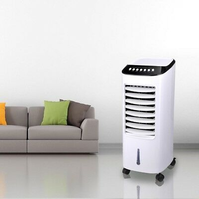 Portable Evaporative Air Cooler Fan Indoor Cooling Humidifie