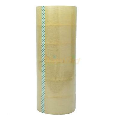 6 Rolls Clear Packaging 2 Mil Box Carton Sealing Tape 2x110 Yards 2 X 330