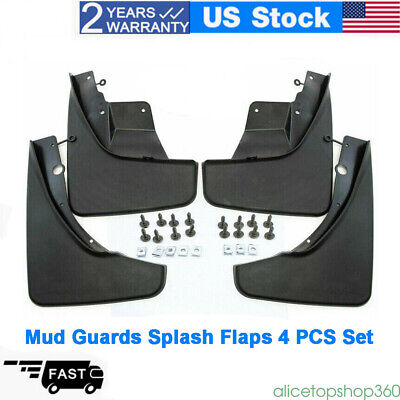 For 2011-2017 Jeep Grand Cherokee Front & Rear Molded Splash Guards Mud Flaps US
