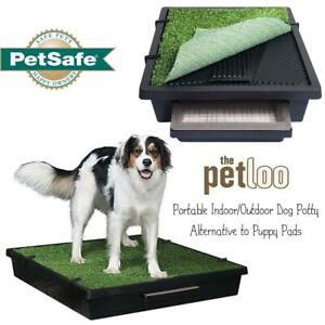 NEW PetSafe Pet Loo Portable Indoor/Outdoor Dog Potty, Alternative to Puppy Pads, Large Condtion: New, Large, corner ...