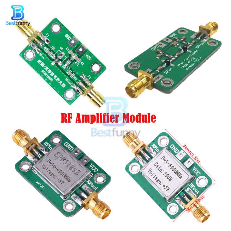 RF Amplifier Module LNA Board Broadband Signal Receiver Low Noise 0.1-6000MHz