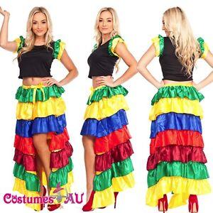 Ladies-Spanish-Senorita-Dancing-Costume-Flamenco-Dancer-Fancy-Dress-Party-Outfit