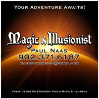 Paul's magic & illusion -magician, illusionist and escape artist
