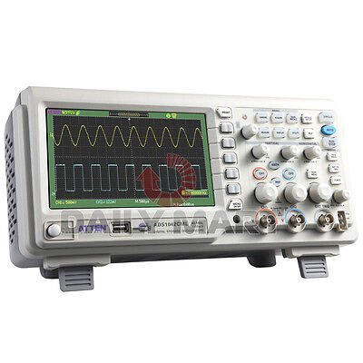New Atten Ads1042cml Digital Storage Oscilloscope 40mhz 1gsas 7 Lcd 2 Channel