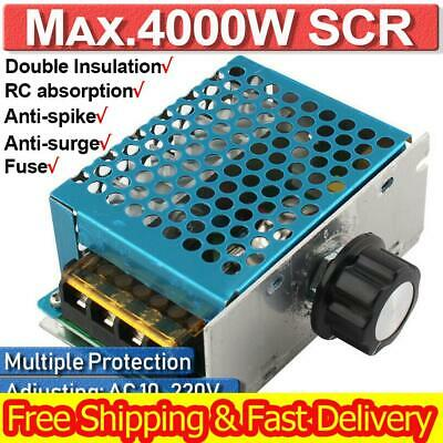 4000w 110v Ac Scr Motor Speed Controller Module Voltage Regulator Dimmer