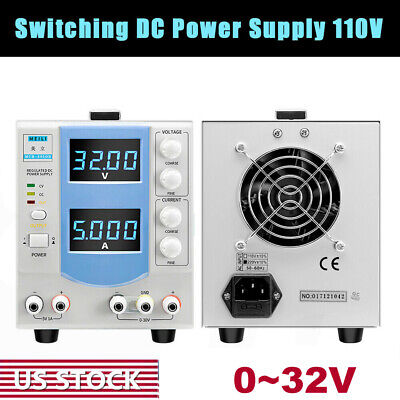 Adjustable 0-32v 5a 160w Regulated Switch Dc Constant Power Supply For Dc Motor