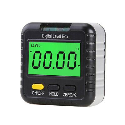 Digital Protractor Level Box Angle Inclinometer Bevel Gauge Meter Detector