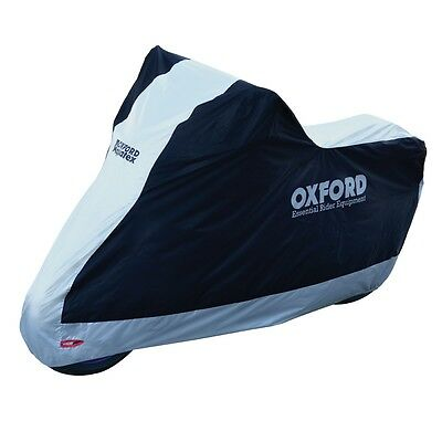 Oxford Aquatex Water Resistant Motorcycle Cover Essential Scooter Motorbike XL