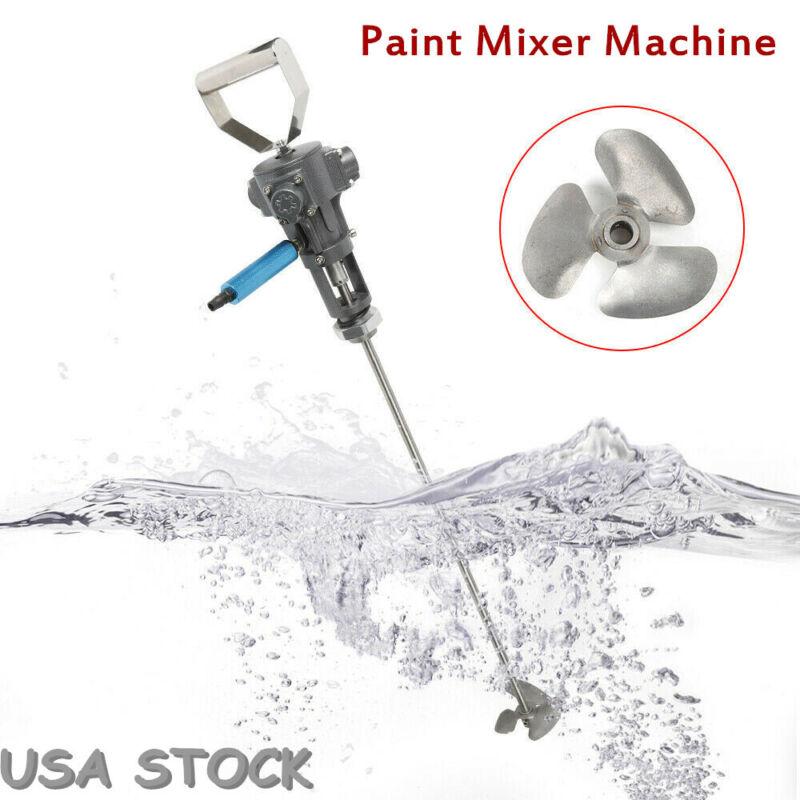 Handheld Industrial Electric Paint Mixer Cement Coating Pneumatic Mixing Machine