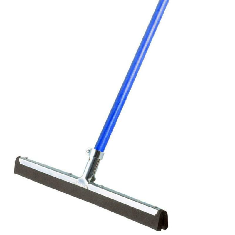 Dry Floor Moss Rubber Squeegee 18 in Wide with 53 in. Handle