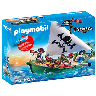 Playmobil Pirates Pirate Ship with Underwater Motor - 70151