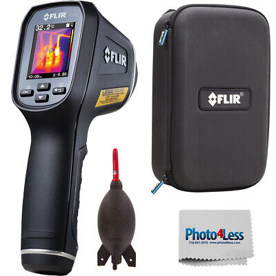 Flir Tg165 Spot Thermal Camera 80 X 60 Resolution9hz Protective Case - Kit