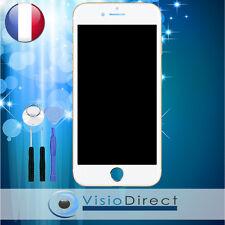 Écran complet pour iPhone 7 Plus blanc vitre tactile + LCD sur chassis + outils