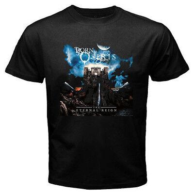 Born Of Osiris The Eternal Reign Deathcore Band Mens Black T-Shirt Size S-3XL