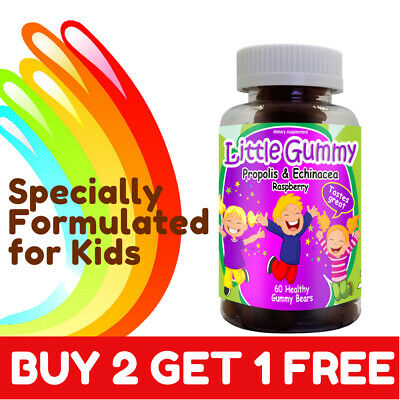 The Best Vitamin for kids Propolis & Echinacea  Gummies 100%