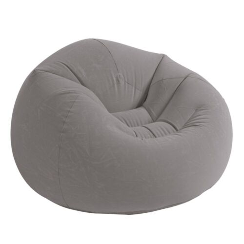 Dorm Chair Beanless Bean Bag Lounge Inflatable Seat Gaming Room Big Lounger New