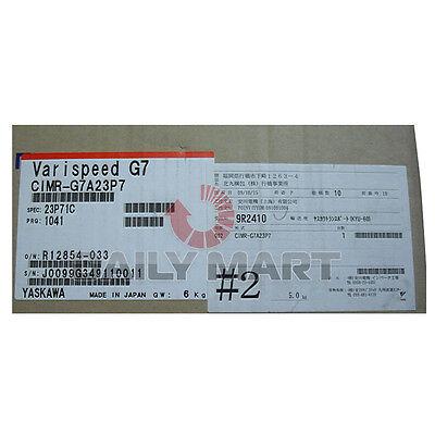 New Yaskawa Cimr-g7a23p7 General Purpose Varispeed G7 Inverter 3ph 200v 3.7kw