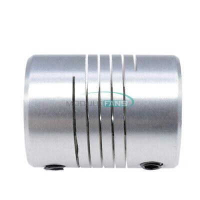 8mmx10mm CNC Motor 3D PrinterJaw Shaft Coupler 8-10mm Flexible Coupling