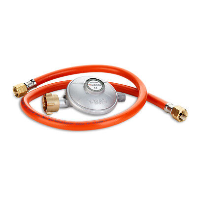 80CM Gas Schlauch + Druckminderer Gasregler Propanschlauch Regeler Propan Butan