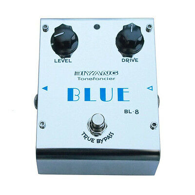 """Biyang BL-8 """"Blue"""" Blues Overdrive Effects Pedal"""