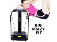 60% OFF SALE!! CRAZY FIT Oscillating VIBRATION Power Massage PLATE 2000W Fitness Machine